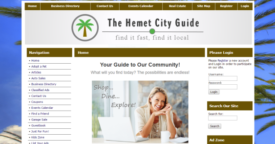 The Hemet City Guide