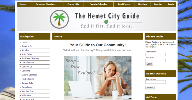 New Hemet City Guide addition from CG's of Ca., almost ready to go full speed.