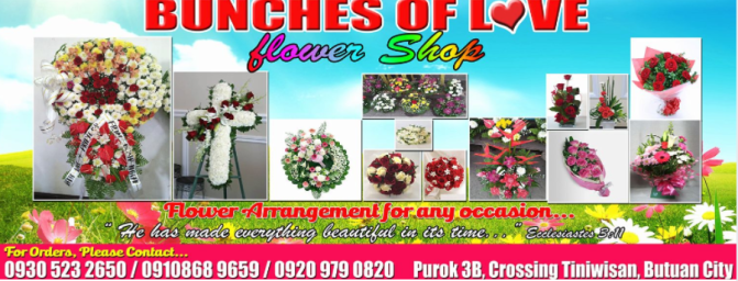 Gift Shop and Flowers, Bunches